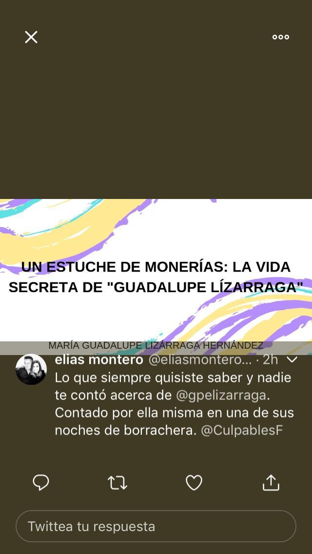 amenazas Lizárraga