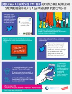 Gobernar a través de Twitter: acciones del gobierno salvadoreño frente a la pandemia por COVID-19